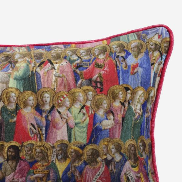 National_Gallery_Velvet_Saints_Cushion_ACC2764_front_