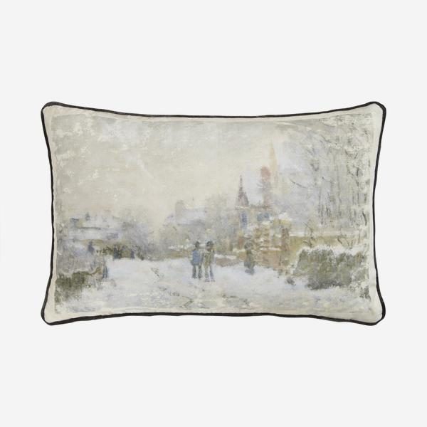 National_Gallery_Monet_Winter_Cushion_Front