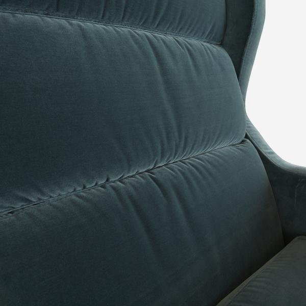 HalstonPetrol_chair_fabric_detail