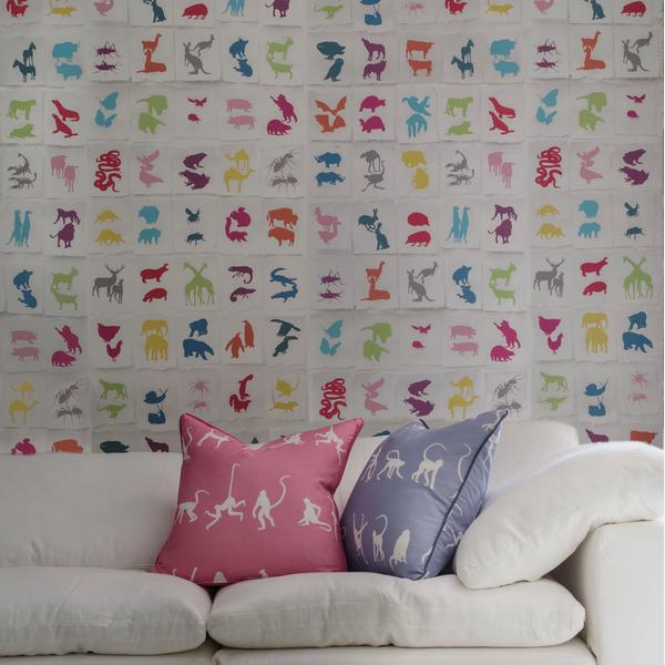 two_by_two_multi_wallpaper_truman_sectional_sofa_white_linen_monkey_puzzle_bluebell___monkey_puzzle_pink_cushions