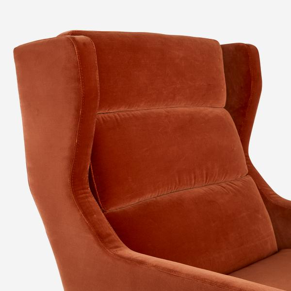 Halston_Chair_Burnt_Orange_quilting_detail_CH0925_