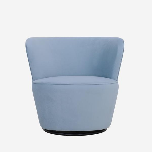 Dorothy_Swivel_Chair_Houdini_Powder_Front