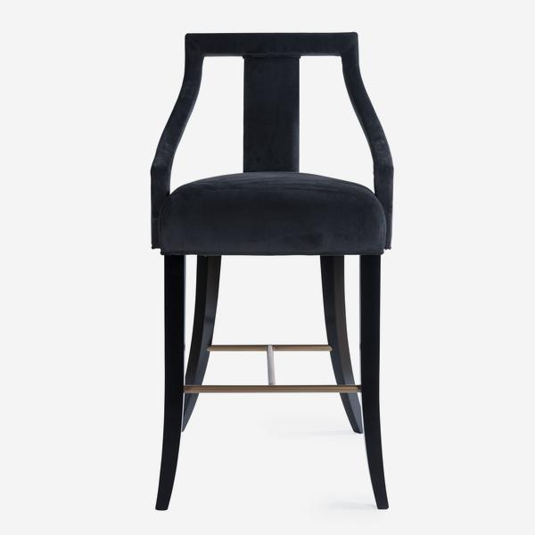 Tanner_Bar_Stool_Charcoal_Front