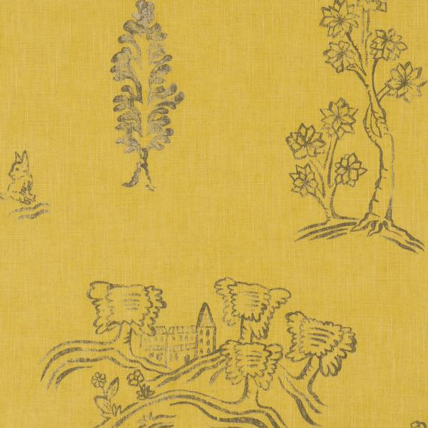 Friendly_Folk_Provencal_Yellow_Fabric_Detail_2