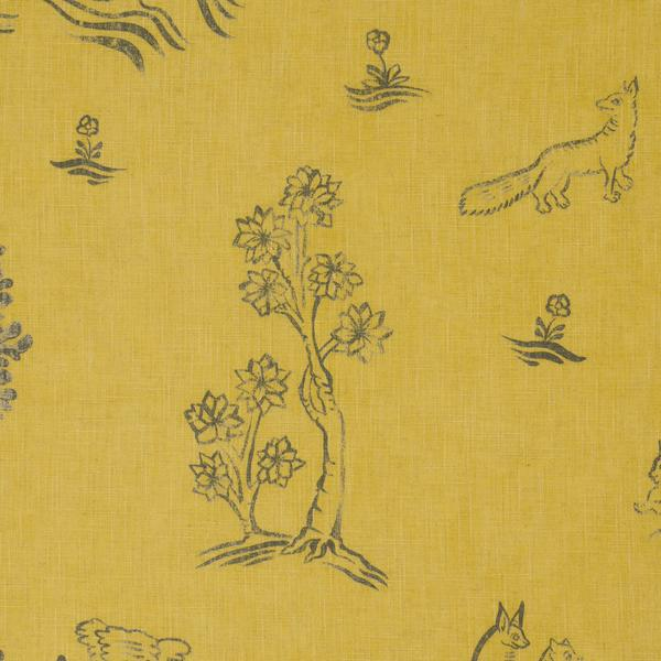 Friendly_Folk_Provencal_Yellow_Fabric_Detail