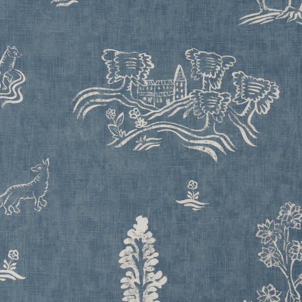 Friendly_Folk_Happy_Blue_Fabric_Detail