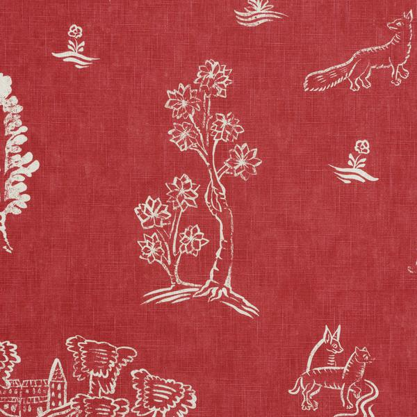 Friendly_Folk_Huntsman_Red_Fabric_Detail