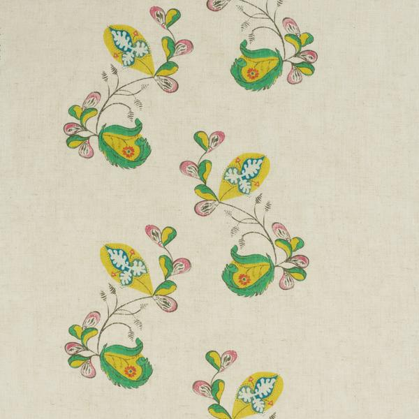 Psycho_Sprig_Tropical_Yellow_Fabric_Detail