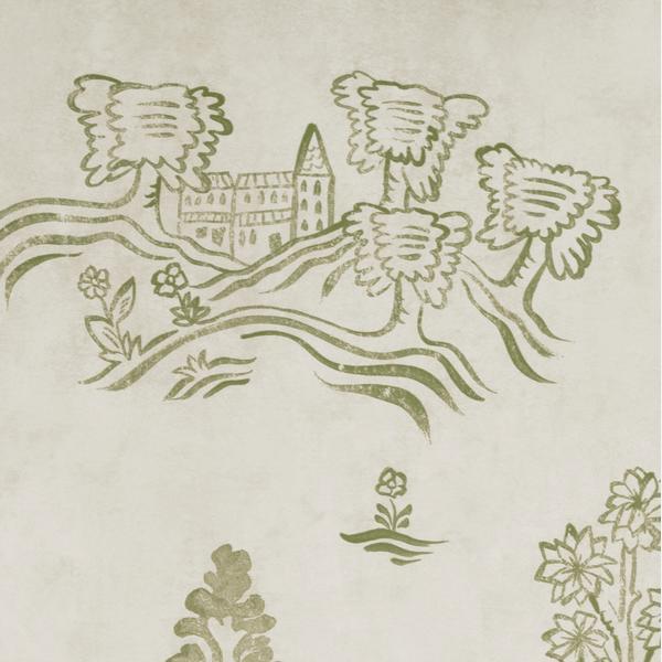 Wychwood_Basil_Green_Wallpaper
