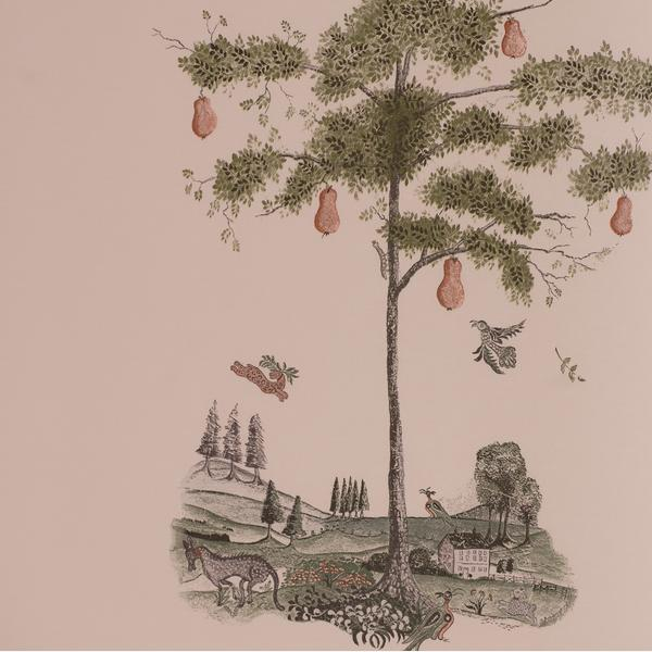 Pear_Tree_Setting_Plaster_Wallpaper_Detail