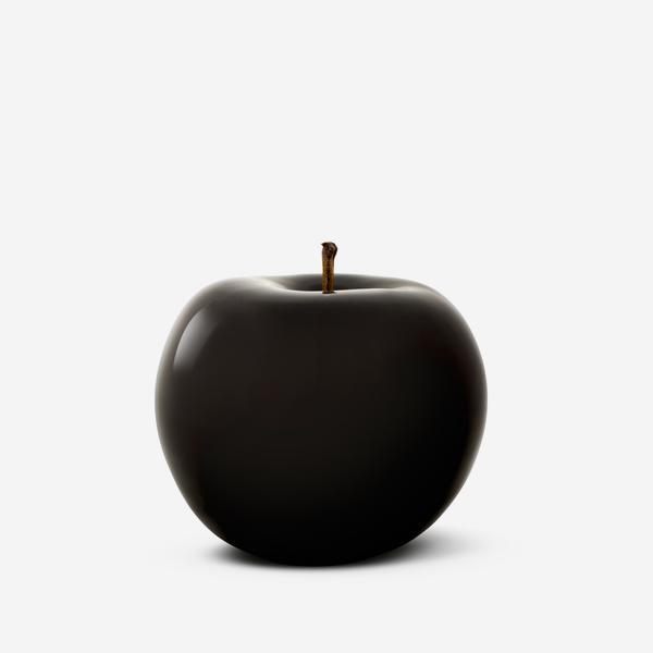 GlazedAppleCeramicBlack