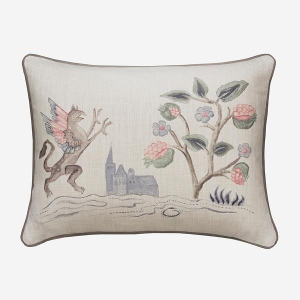 Tapestry_Folk_Griffin_Cushion