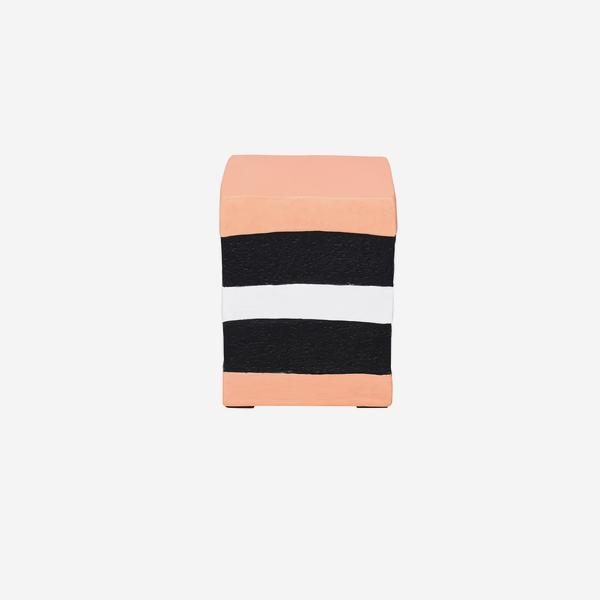 Pick_n_Mix_Square_Stool_Orange_Front