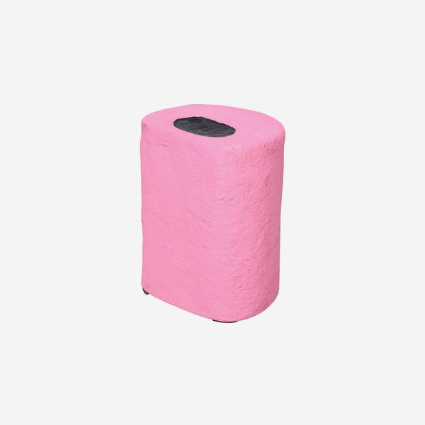 Pick_n_Mix_Round_Stool_Pink_Black_Angle