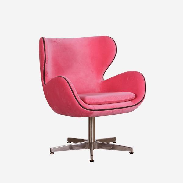 Kapow_Chair_Fuchsia_Fizz_Angle