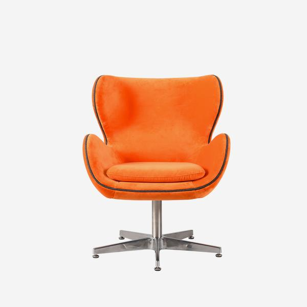 Kapow_Chair_Tangerine_Dream_Front