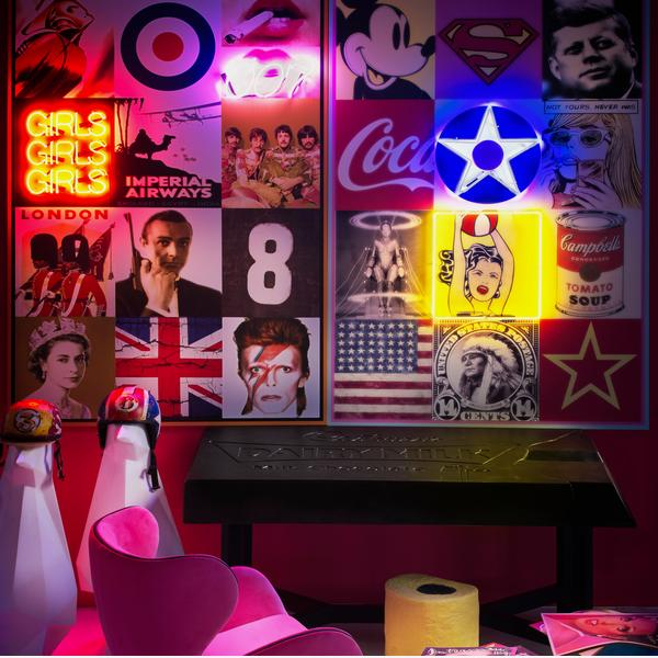 Britain Neon Artwork Lifestyle