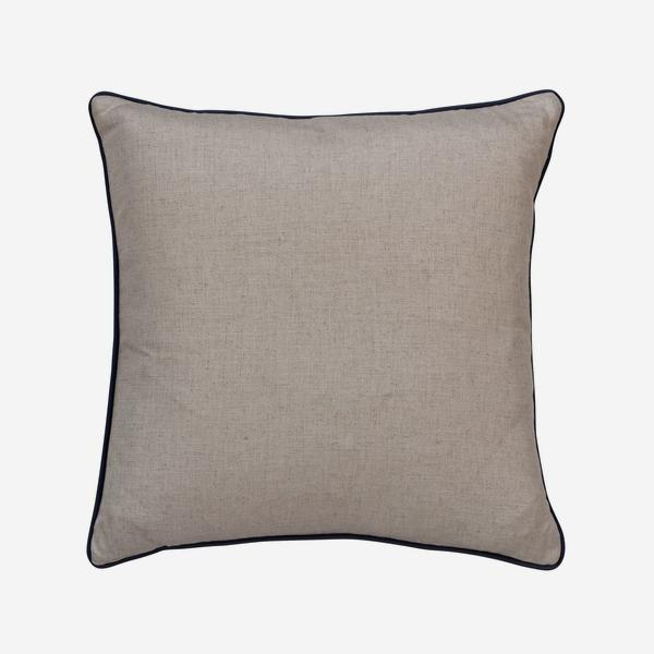 HedgerowPlainLinenHoudiniBlueberryCushion