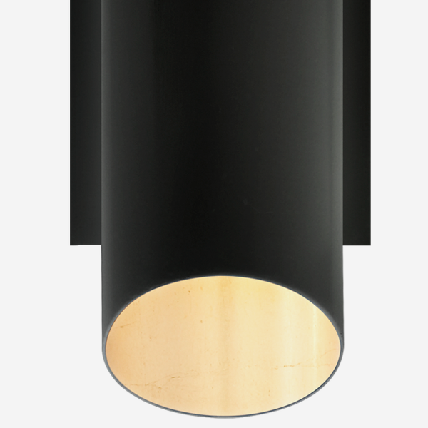 Tourain_Wall_Light_in_Black_with_Gild_Interior