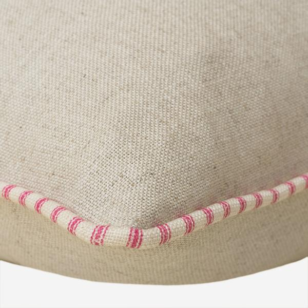 Trek_Linen_Cushion_with_Savannah_Paradise_Piping_Detail