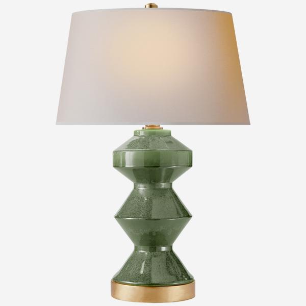 Weller_Zig_Zag_Table_Lamp_in_Kiwi_Green