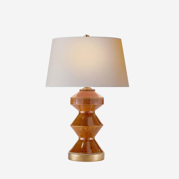 Weller_Zig_Zag_Table_Lamp_in_Shanghai_Brown