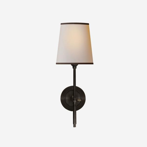 Bryant_Wall_Light_in_Bronze_with_Black_Trim_Shade