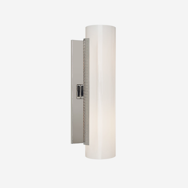 Precision_Wall_Light_in_Polished_Nickel_with_White_Glass