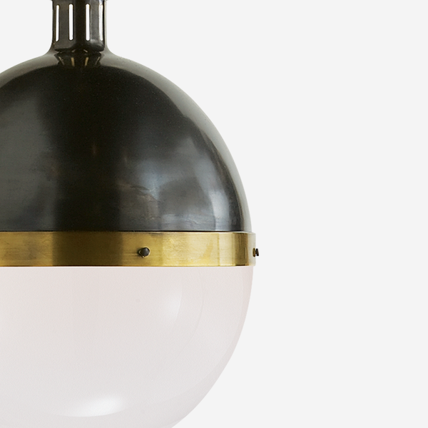 Hicks_Extra_Large_Pendant_Light_in_Bronze_and_Hand_Rubbed_Antique_Brass_with_White_Glass