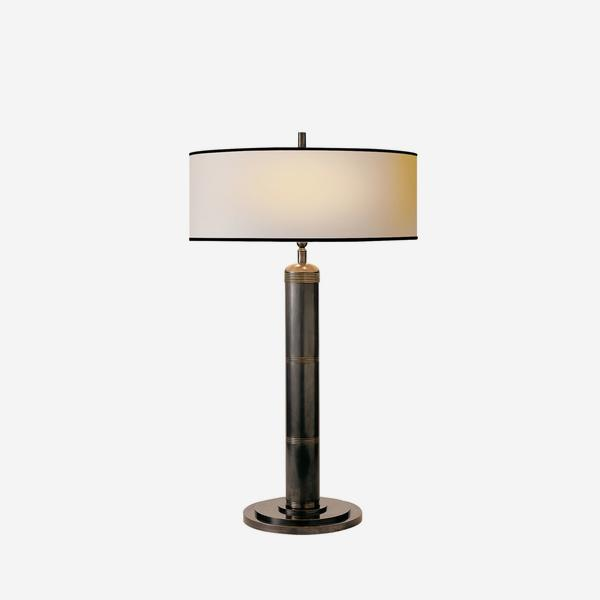 Longacre_Tall_Table_Lamp_in_Brinze_with_Black_Trim_Shade