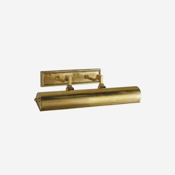Dean_Small_Double_Picture_Light_in_Natural_Brass