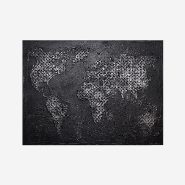 Worldmap_Steel_Artwork