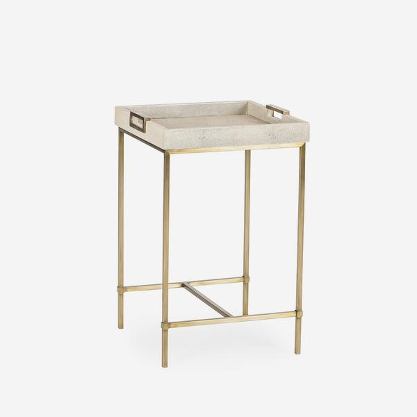 Edith_Small_Side_Table_Ivory_Shagreen_Angle