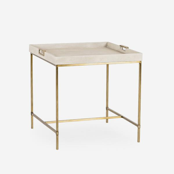 Edith_Large_Side_Table_Ivory_Shagreen_Angle
