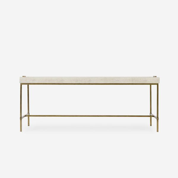 Edith_Coffee_Table_Ivory_Shagreen_Front