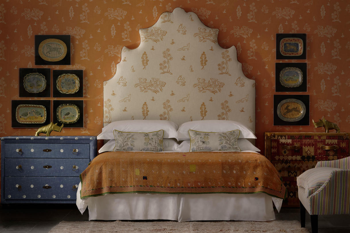 Lucifer_Custom_Headboard_in_Friendly_Folk_Melon_Orange_