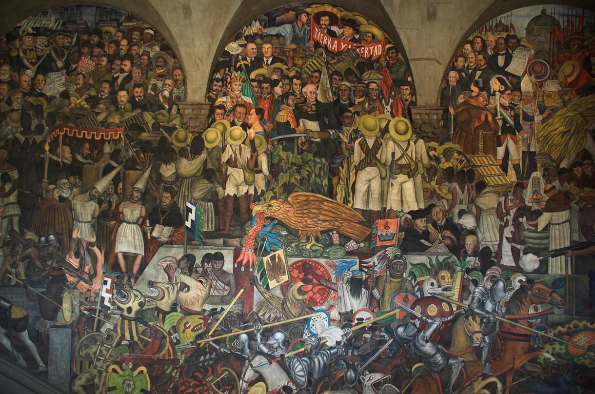 Rivera murals
