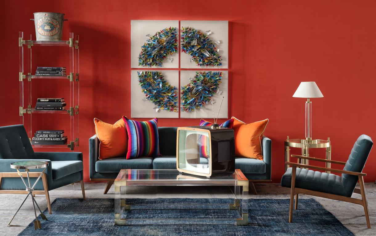 westwood_sofa_petrol_lumiere_display_unit_and_coffee_table_jagger_chair_petrol_hutton_chair_petrol_santiago_side_table_otto_table_lamp_pelham_clementine_csh