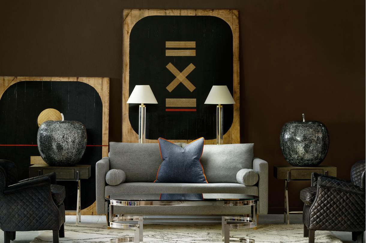 Brindle_3_Seater_sofa_in_York_Marl_with_bolsters_in_Cambridge_Marl_and_scatter_cushion_in_Wessex_Navy_with_Sampson_side_tables_Otto_table_lamps_and_quilted_Harrow_chairs