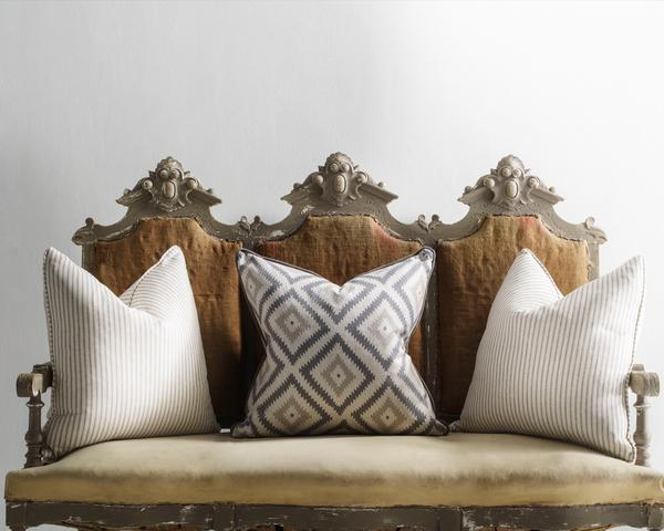 glacier and savannah storm cushions lifestyle