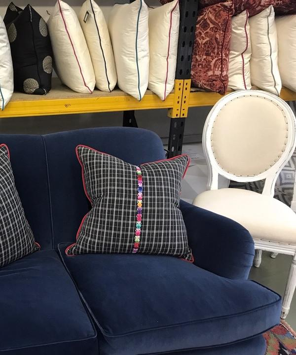 Clara Sofa and Cushions