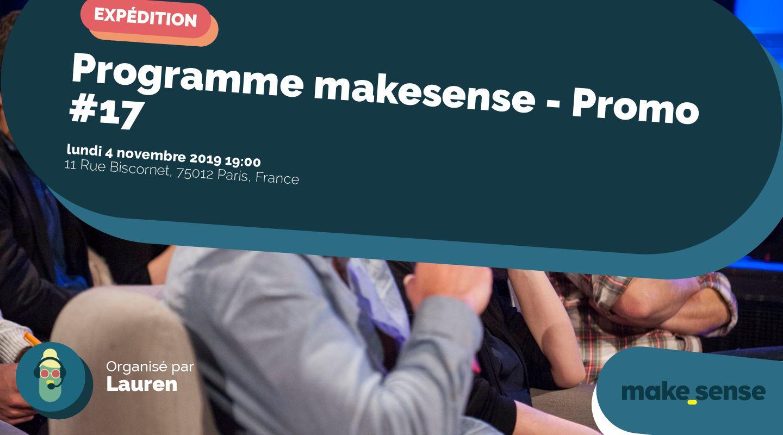 Programme makesense - Promo #17