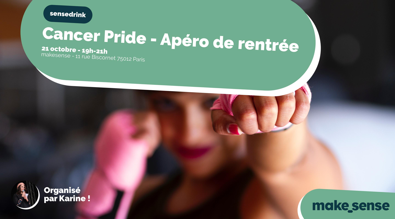 Cancer Pride - Apéro de rentrée pour les bénévoles !