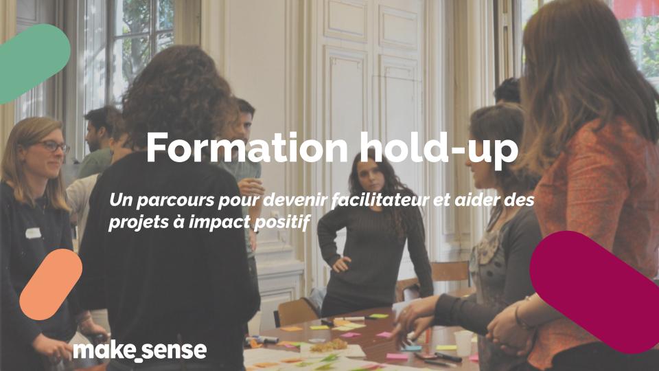 Comment organiser un hold-up et aider un projet à impact positif ?