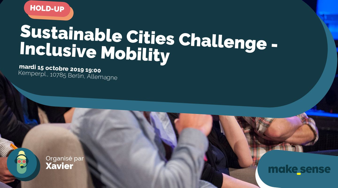 Sustainable Cities Challenge - Inclusive Mobility