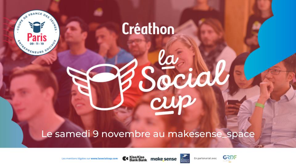 la Social cup - Créathon de Paris