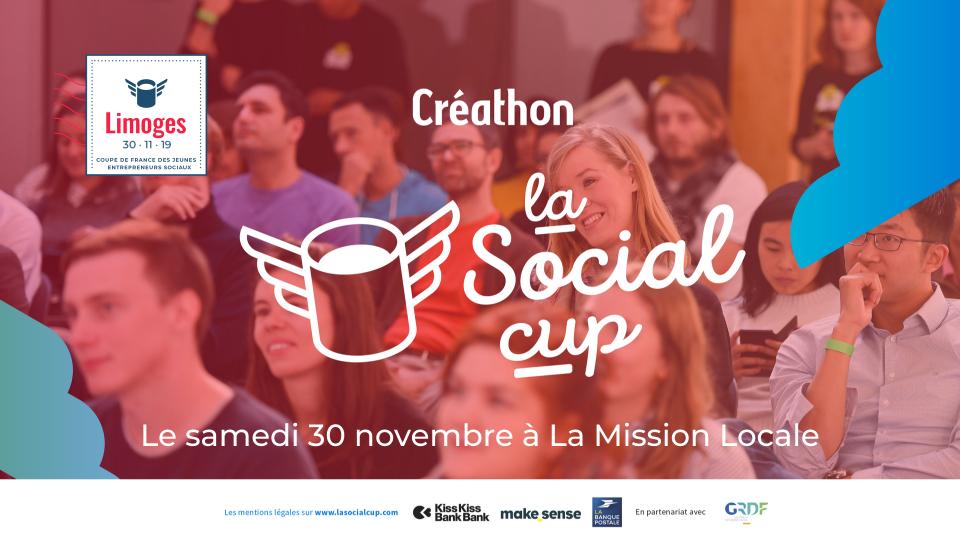 la Social cup - Créathon de Limoges