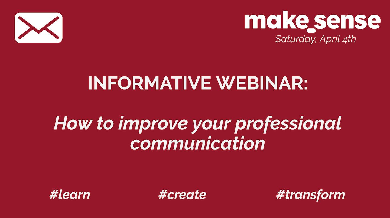 Improving your Professional Communication
