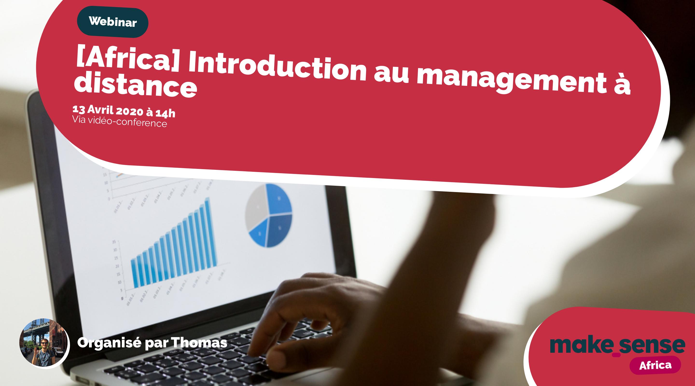 [Africa] - Introduction au management à distance