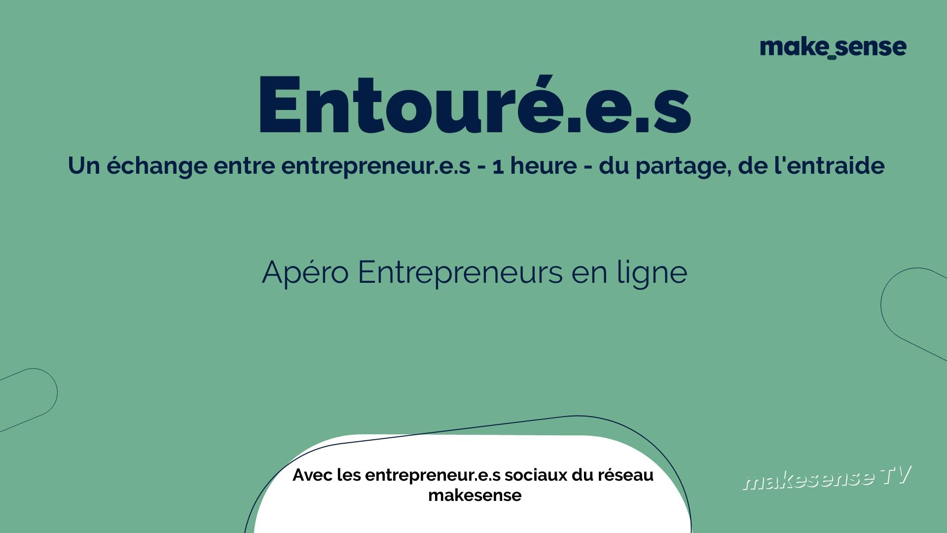 Apéro Entrepreneurs en ligne